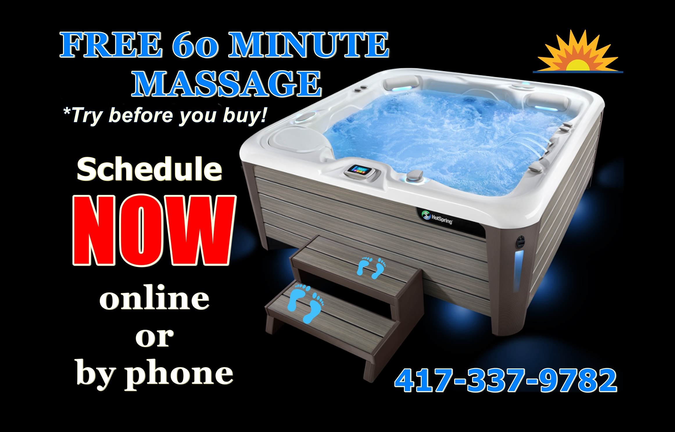 aa 60 min free massage