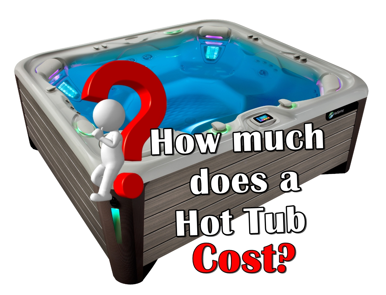 How much a Hot tub Cost? Family Image