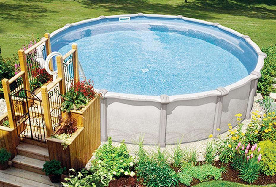 Seaspray Above Ground Pools Family Image